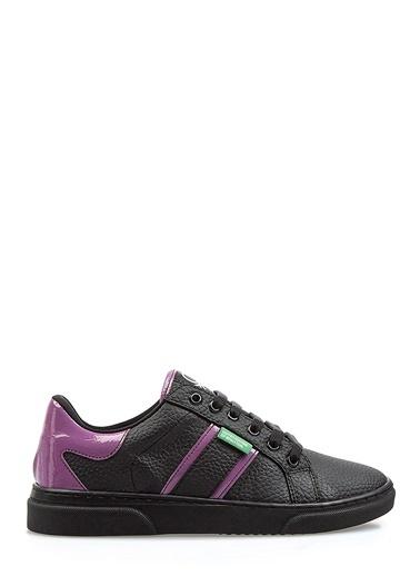 Benetton Bn30122 Kadın Spor Ayakkabı Siyah
